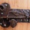 Ancient warded lock